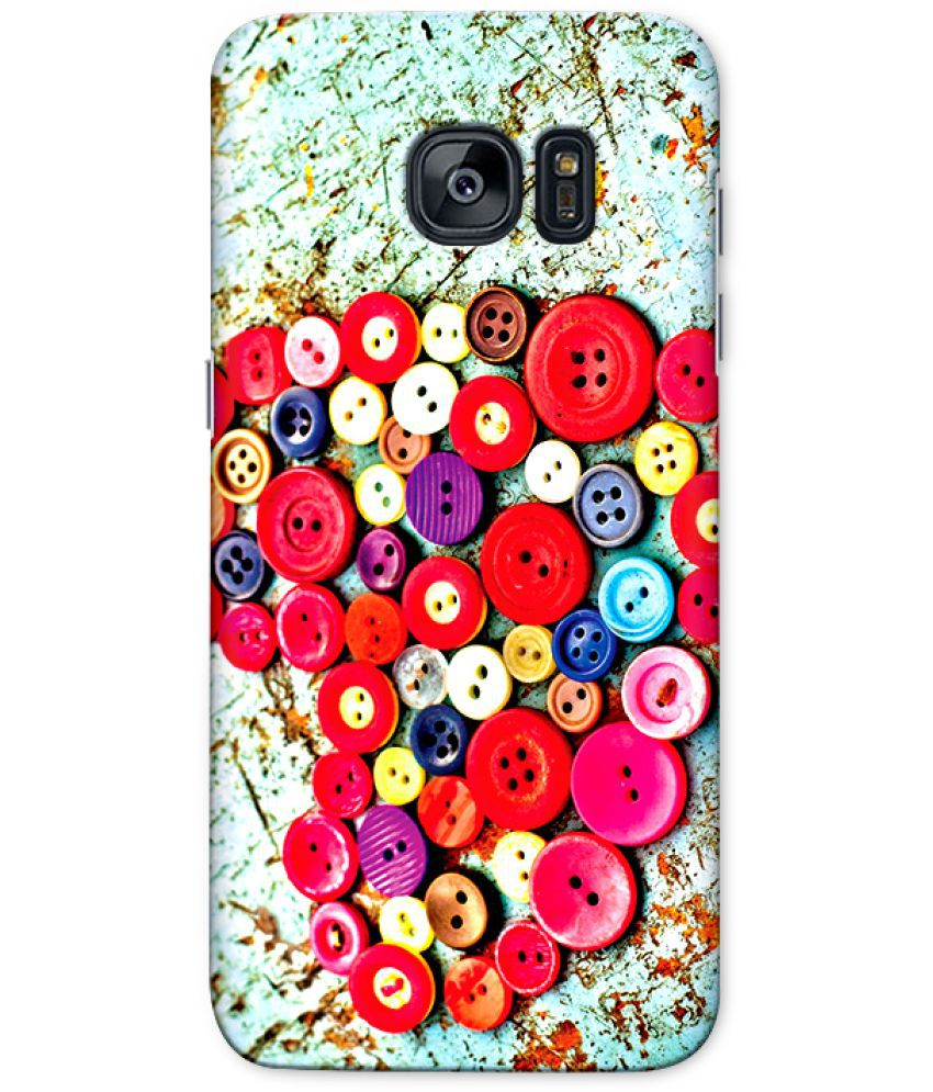 Samsung Galaxy S7 Edge Printed Cover By CRAZYINK