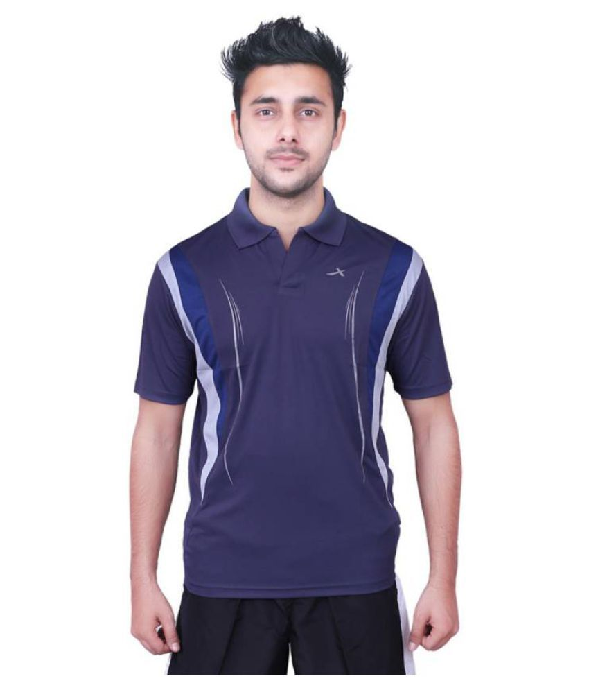 Vector X Solid Men's Polo T-Shirt