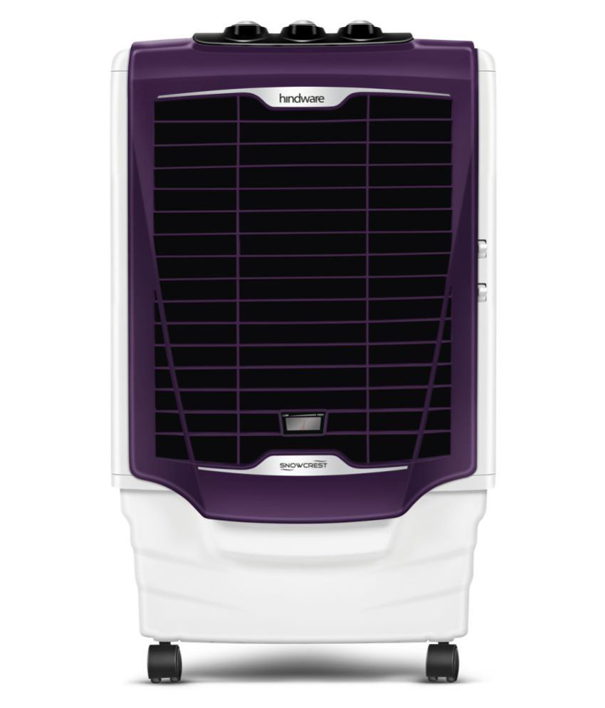 Hindware Snowcrest 36L  Personal Air Cooler with Remote (Purple)