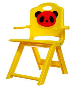 Awe Inspiring Panda Yellow Foldable Kids Chair Buy Panda Yellow Foldable Gmtry Best Dining Table And Chair Ideas Images Gmtryco