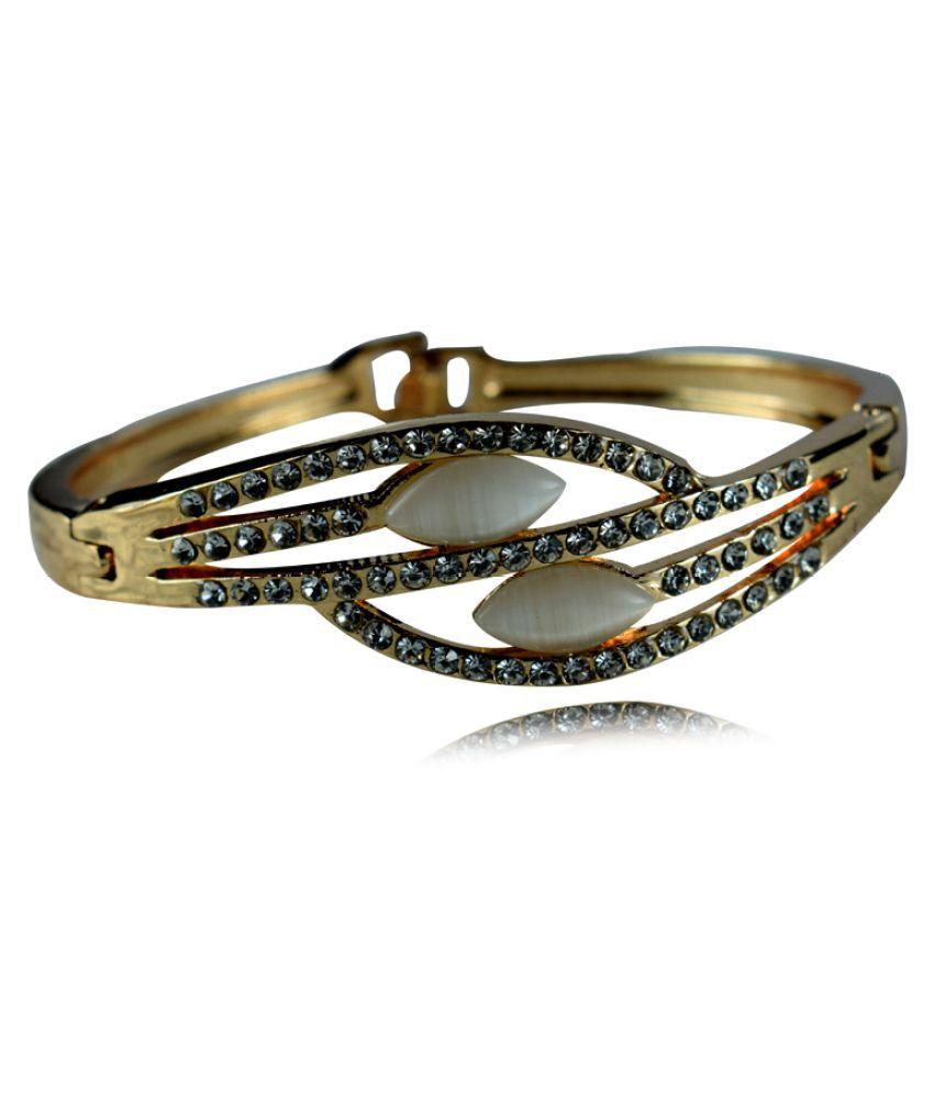 Secshi Golden Alloy Bracelet