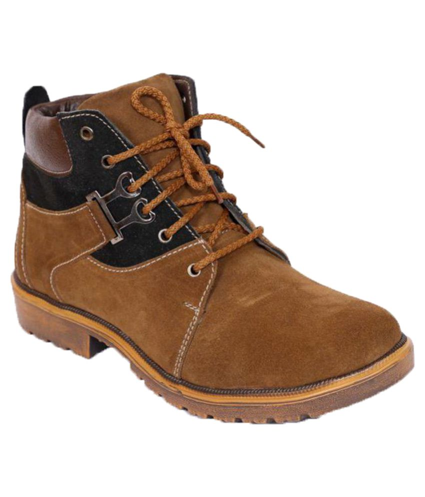 Shoe Island Bronze Casual Boot