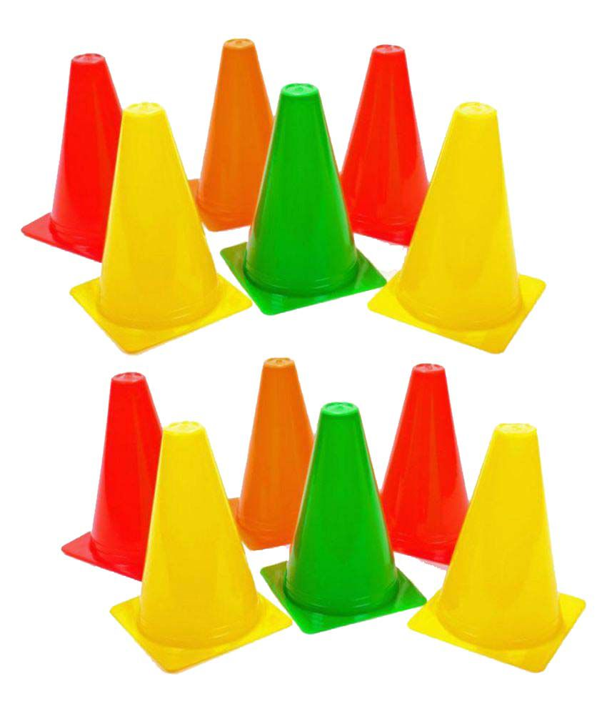 Flash Marking Training Cone 6 Pack Of 12 Buy Online At Best Price