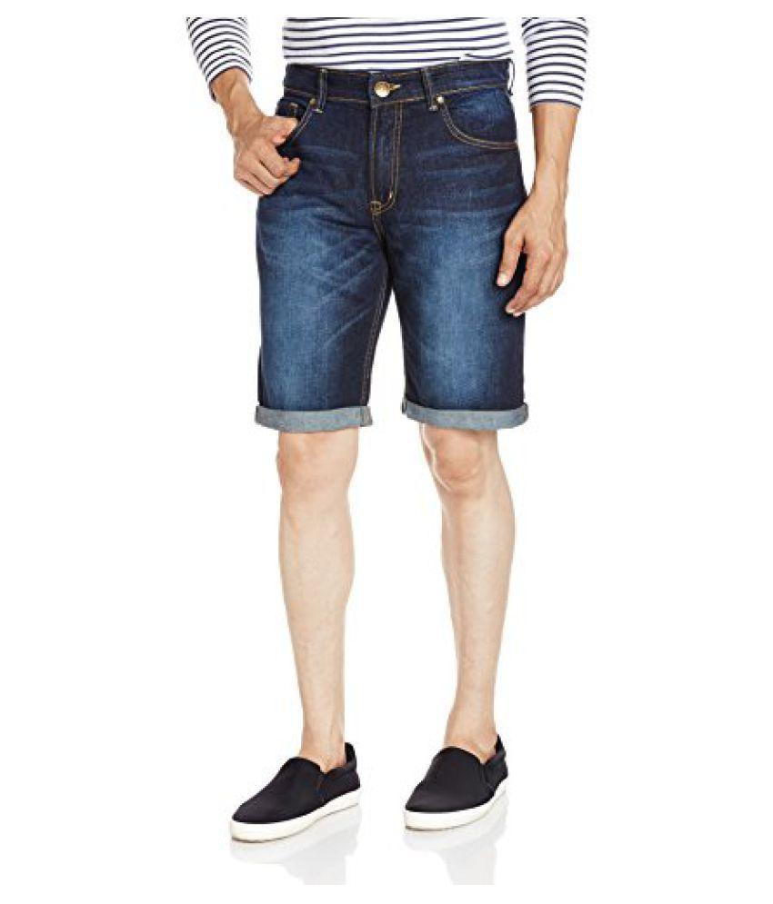 People Men's Denim Shorts