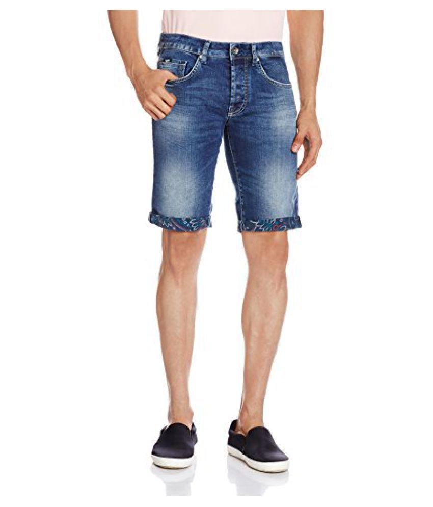 GAS Men's Denim Shorts