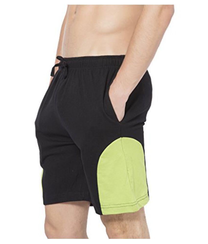 Mens Shorts - MB04 - Black-Pista