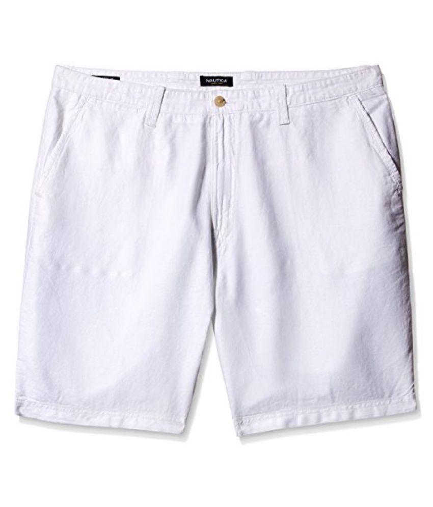 Nautica Mens linen Shorts