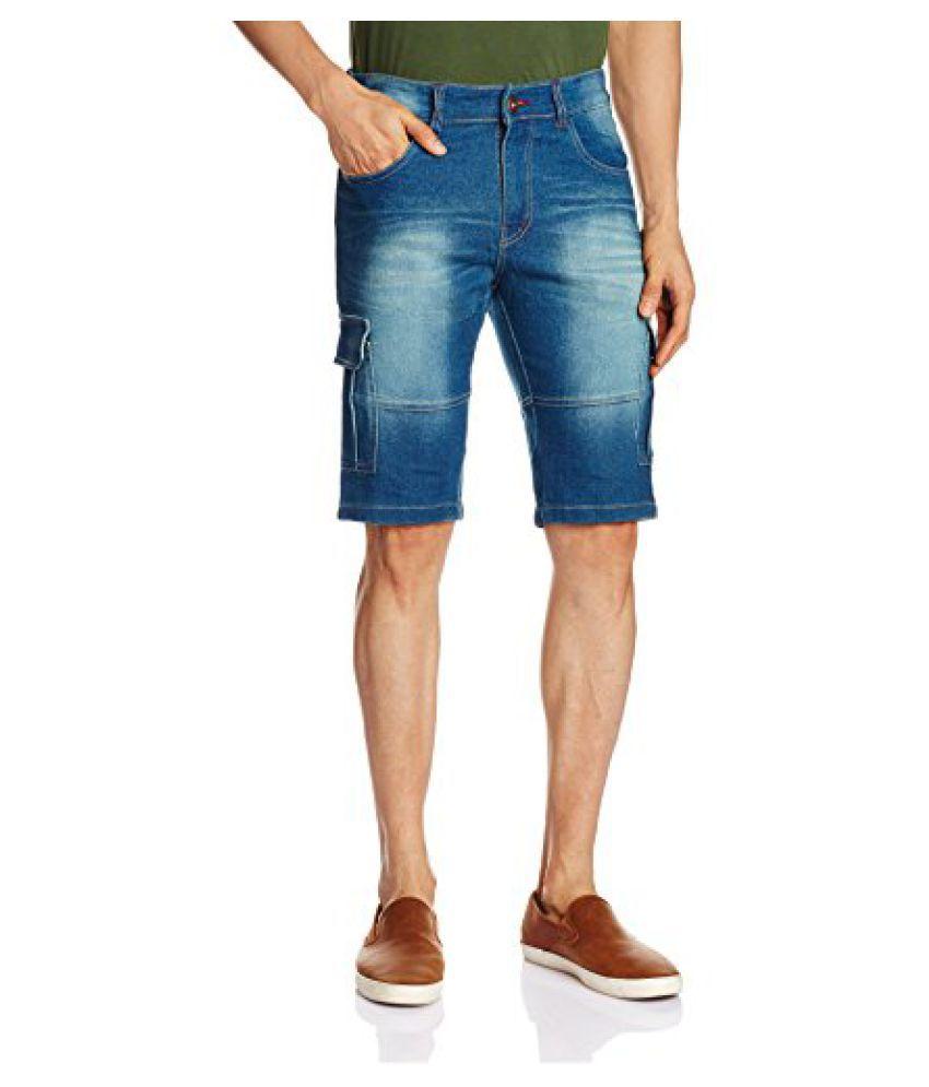 Urban District Men's Denim Shorts