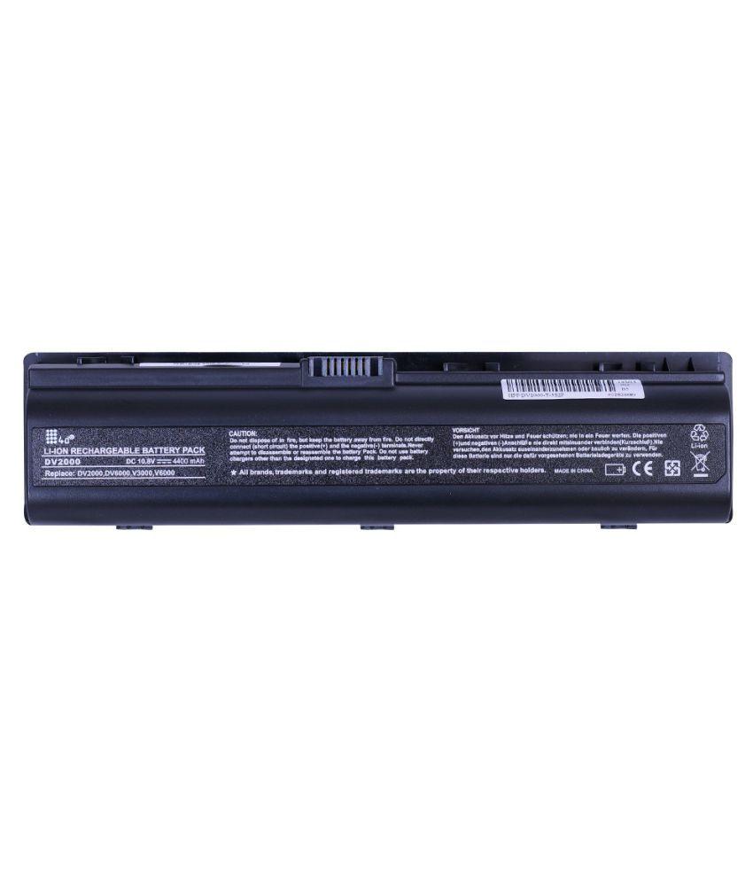 4d Impex Laptop battery Compatible For HP 4d-HP-PVLN-DV2118LA-6CLB