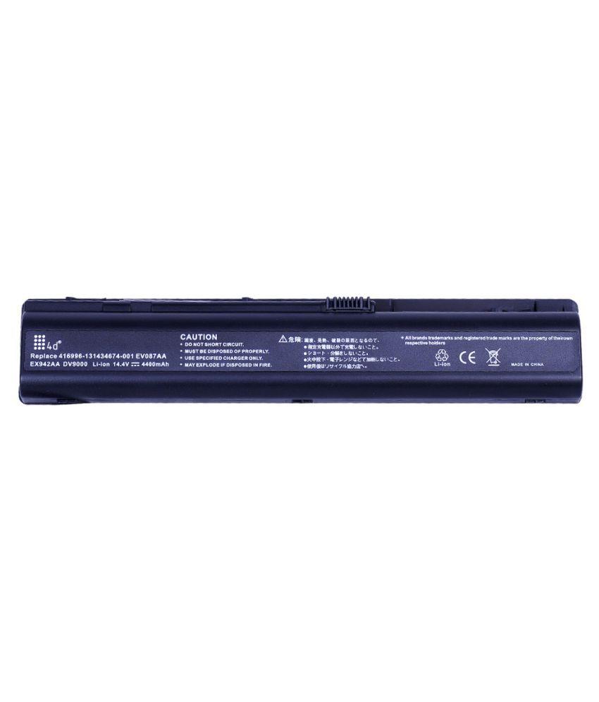 4d Impex Laptop battery Compatible For HP DV9068EA-6CLB