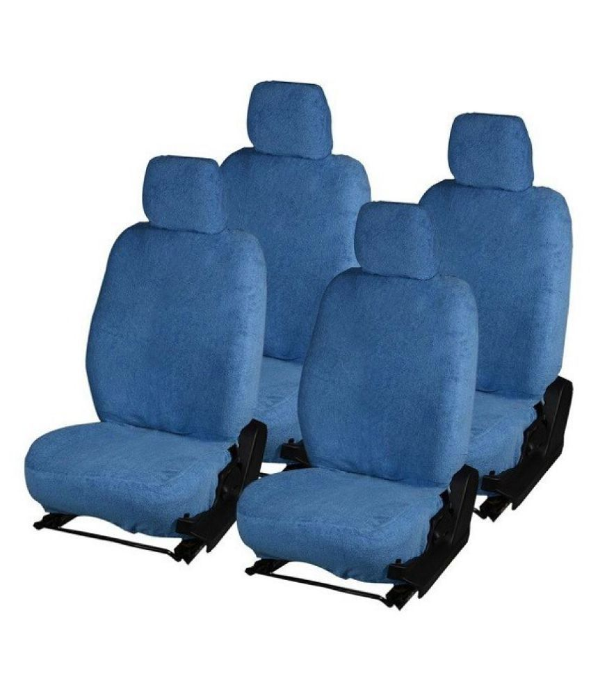 GS Towel Car Seat Covers Blue