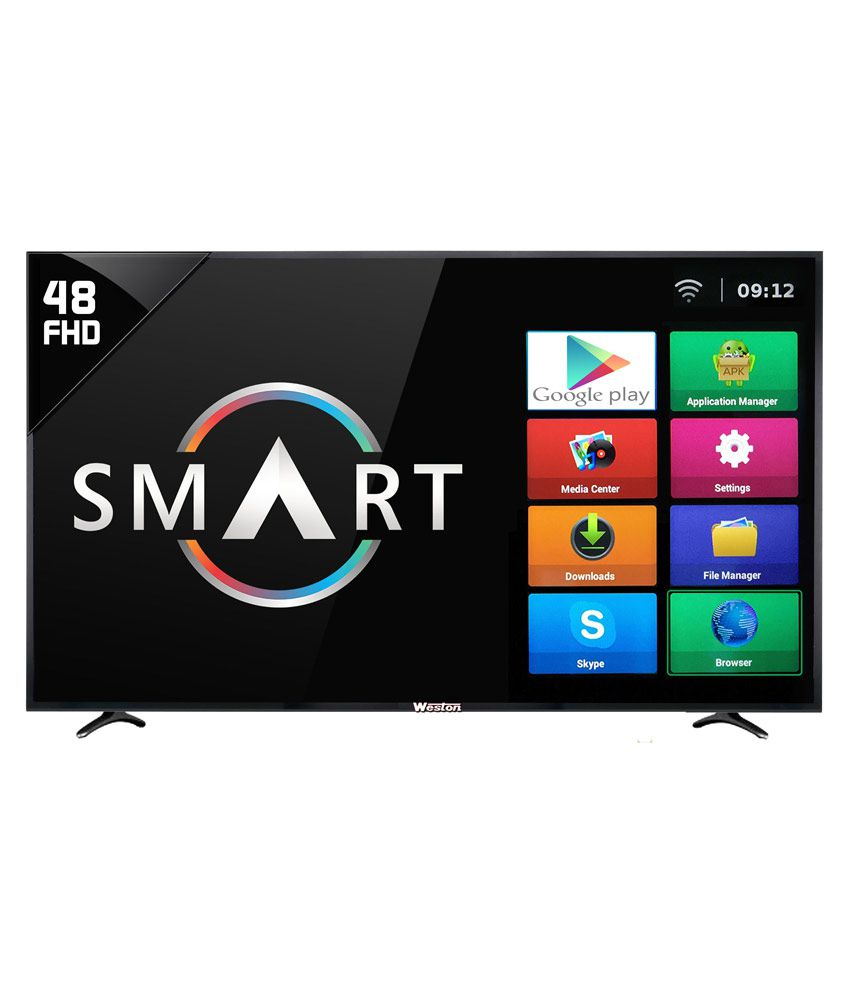 Weston WEL-5100/ WEL-5101 122 cm ( 48 ) Smart Full HD (FHD) LED Television