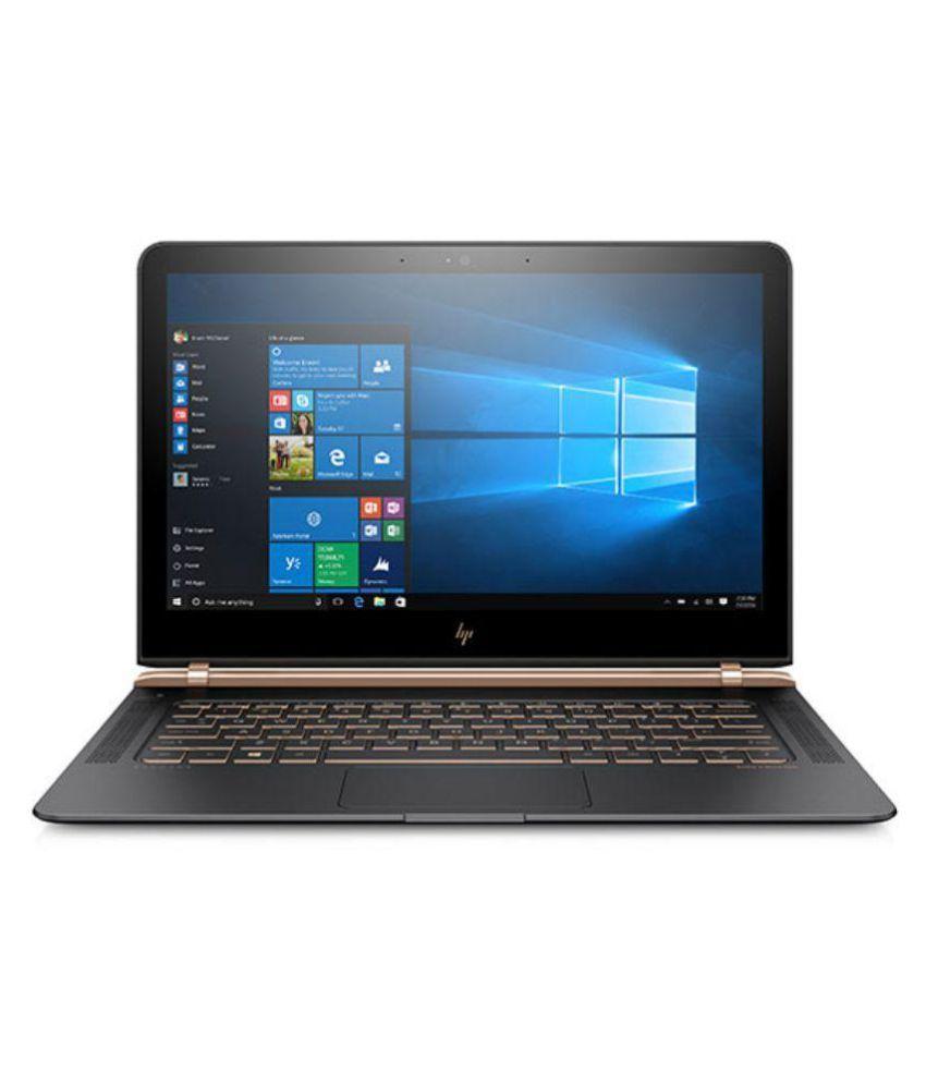 HP Spectre 13-V123TU Notebook (7th Gen Intel Core i5- 8GB RAM- 256GB SSD- 33.78cm(13.3)- Windows 10) (Grey)