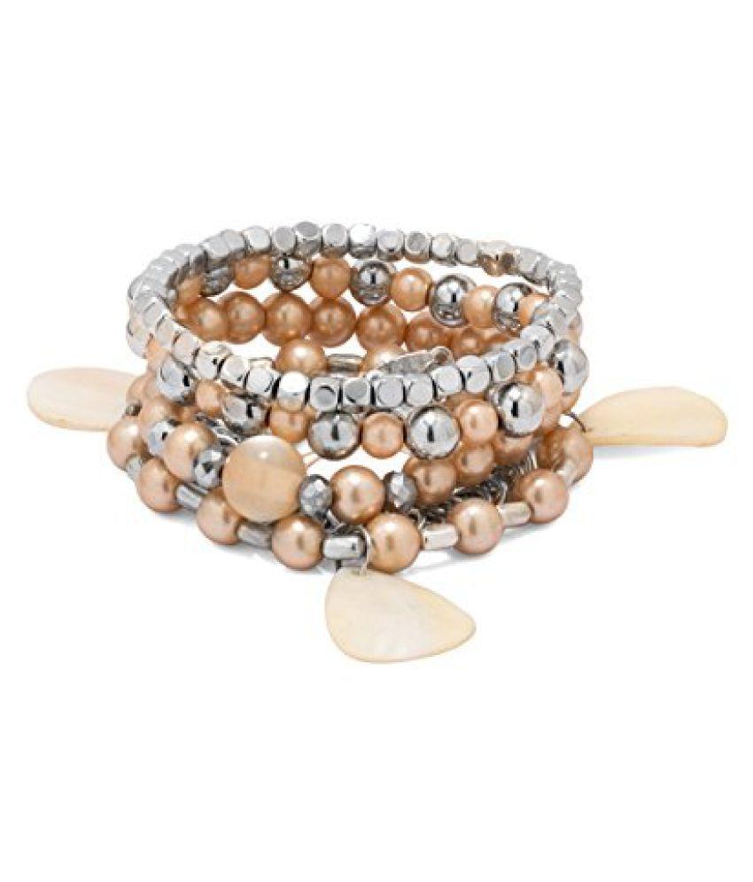 Voylla Pack Of 5 Arm Candy Bracelets