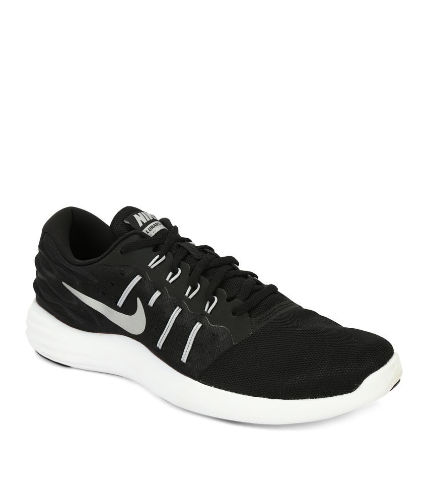99a1c065ec5 Nike NIKE LUNARSTELOS Black Running Shoes - Buy Nike NIKE LUNARSTELOS Black  Running Shoes Online at Best Prices in India on Snapdeal