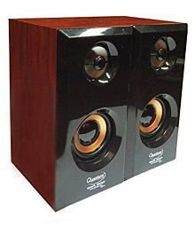 Quantum QHMPL QHM630 2.0 Multimedia Speakers (Color May Vary) With 6 Months Manufacturer Warranty If You Purchase From SRI INFOTECH Only