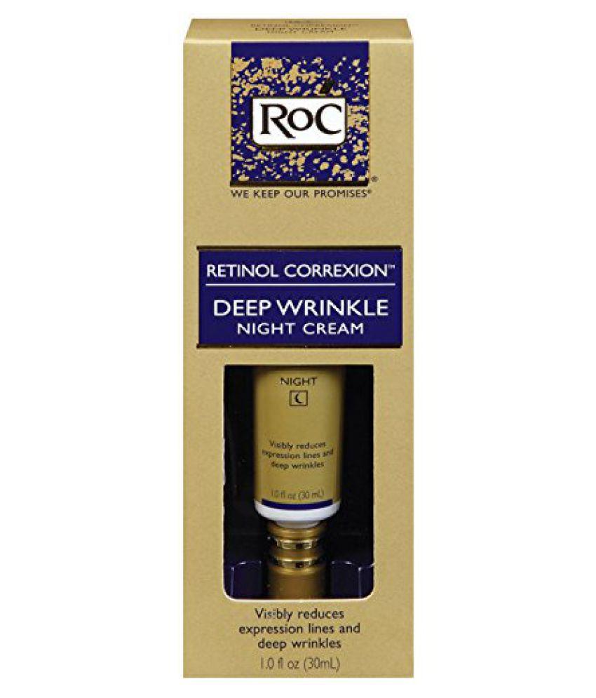 Roc Retinol Correxion Deep Wrinkle Night Cream, 1-Ounce