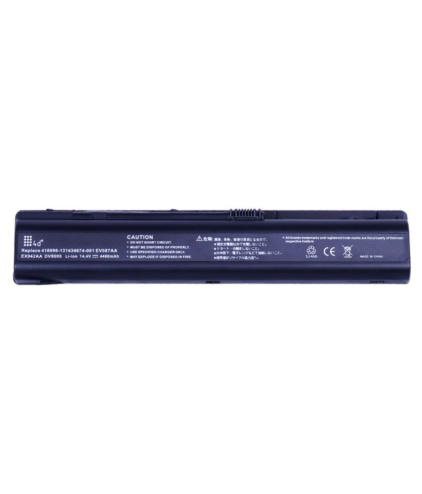 4d Impex Laptop battery Compatible For HP DV9010TX-6CLB