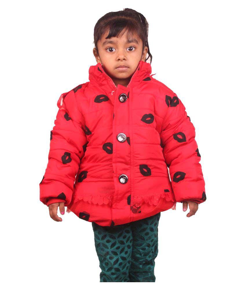 Owlkart Red Woven Jacket