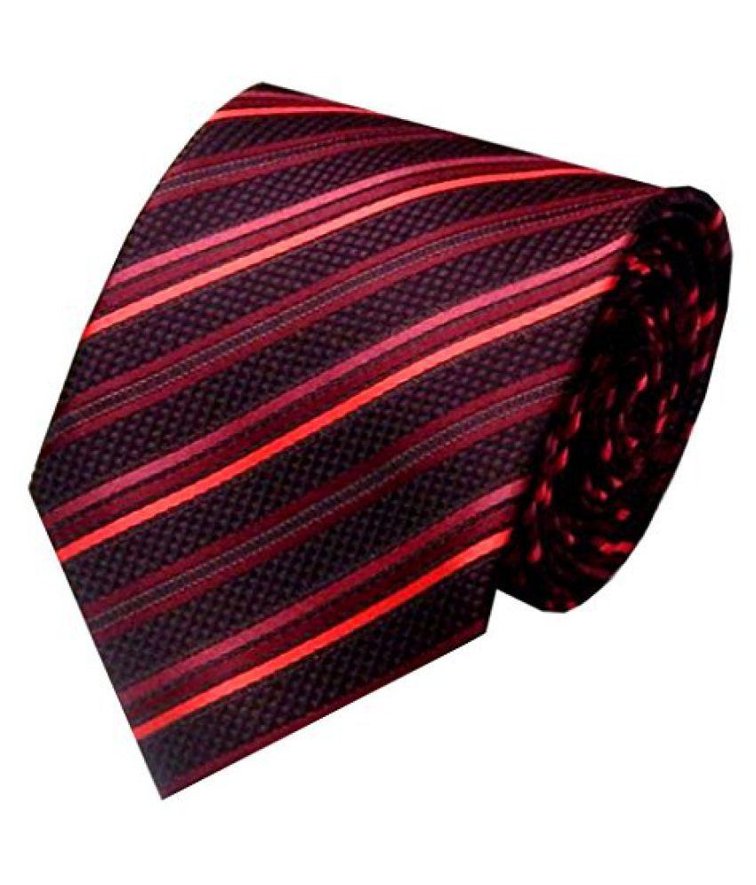 Lino Perros Maroon Party Necktie