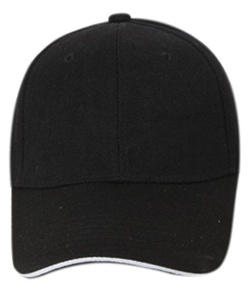 ILU Black Sports cap caps for man woman Men Women Baseball Cap Snapback cap  Hip hop cap Boys Girls cap - Buy Online   Rs.  84a5166e18bc