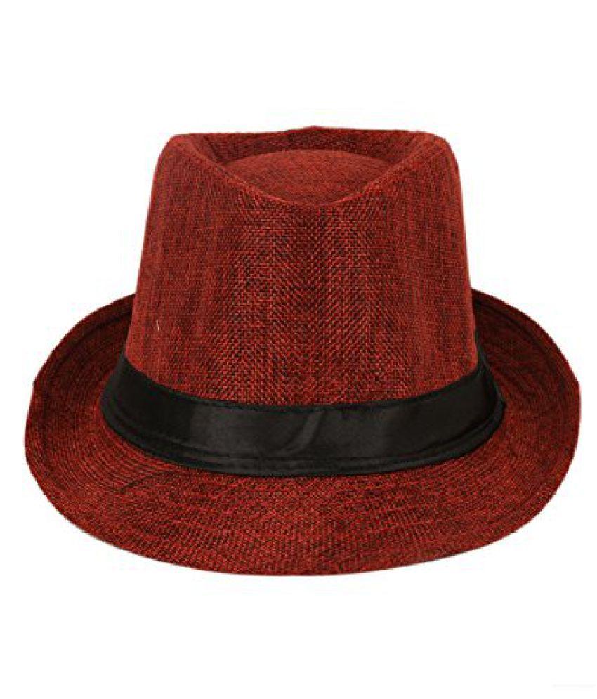 Tiekart Red Self Cool Hats