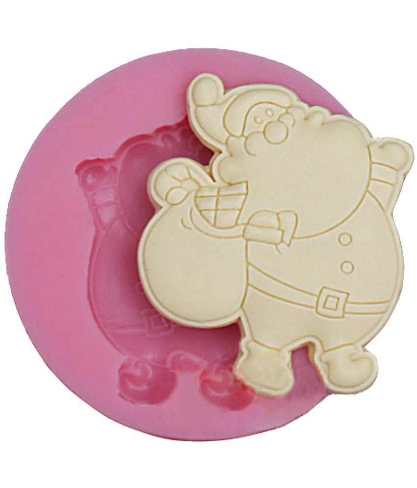 Futaba Silicone Cup Cake Moulds 10ml Dear Santa