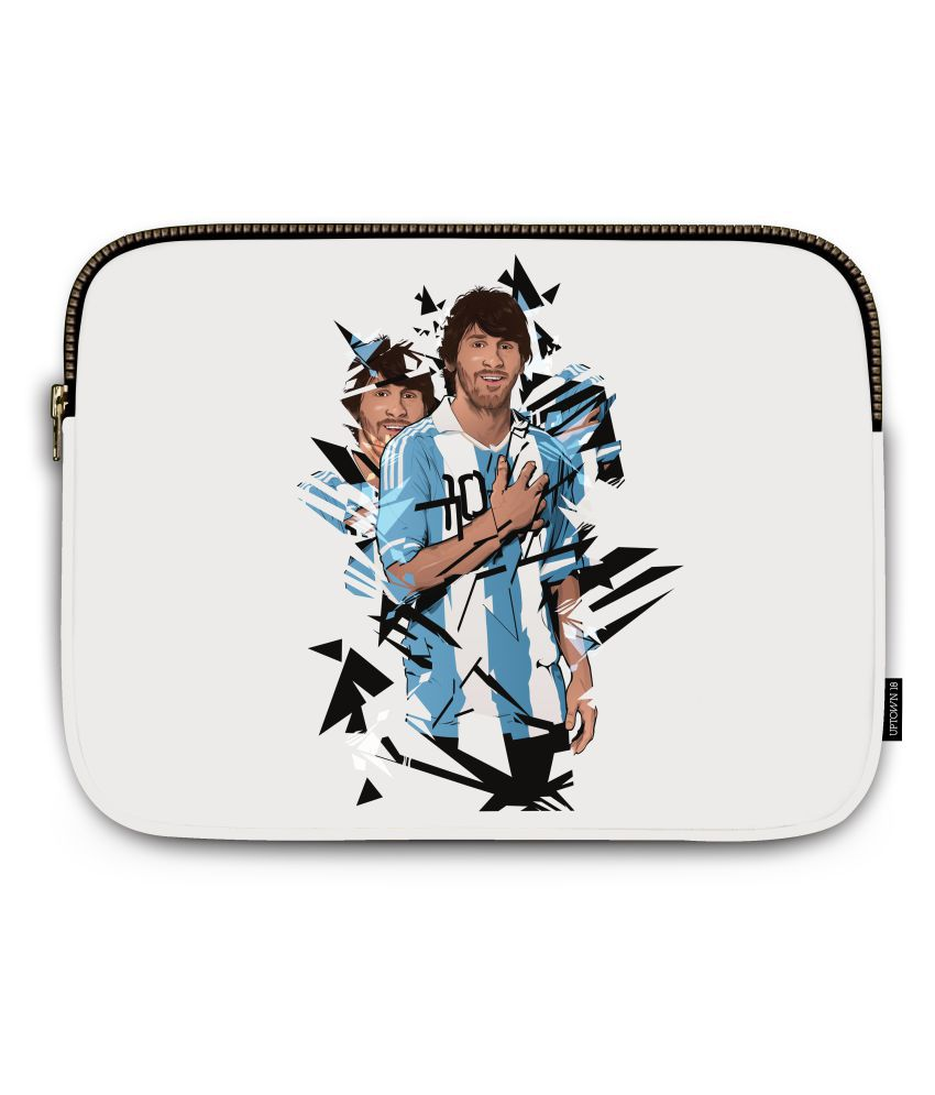 Uptown 18 White Laptop Cases
