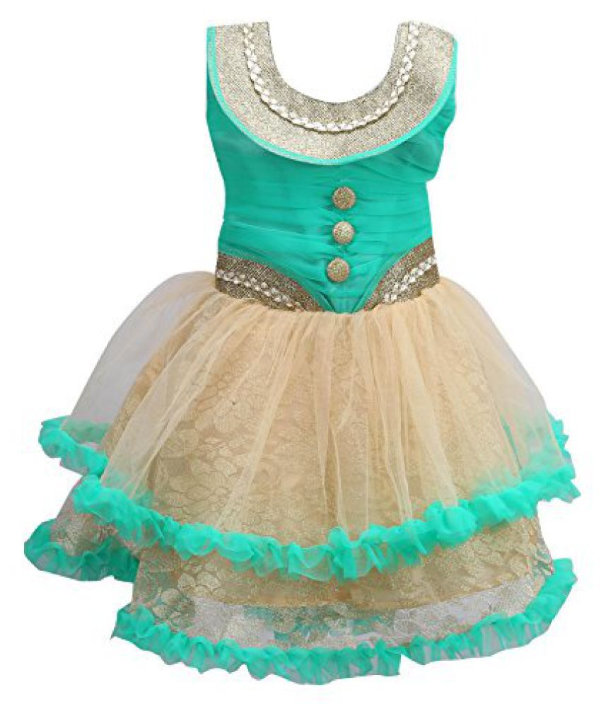 b88879cd6 Wish Karo baby girls Party wear frock dress DN069rama - Buy Wish ...