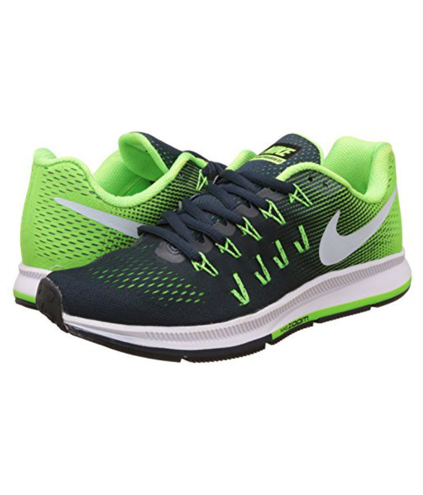 075578321104 ... Nike Men s Air Zoom Pegasus 33 Green Running Shoes - 7.5 UK India (42.  Hover to zoom