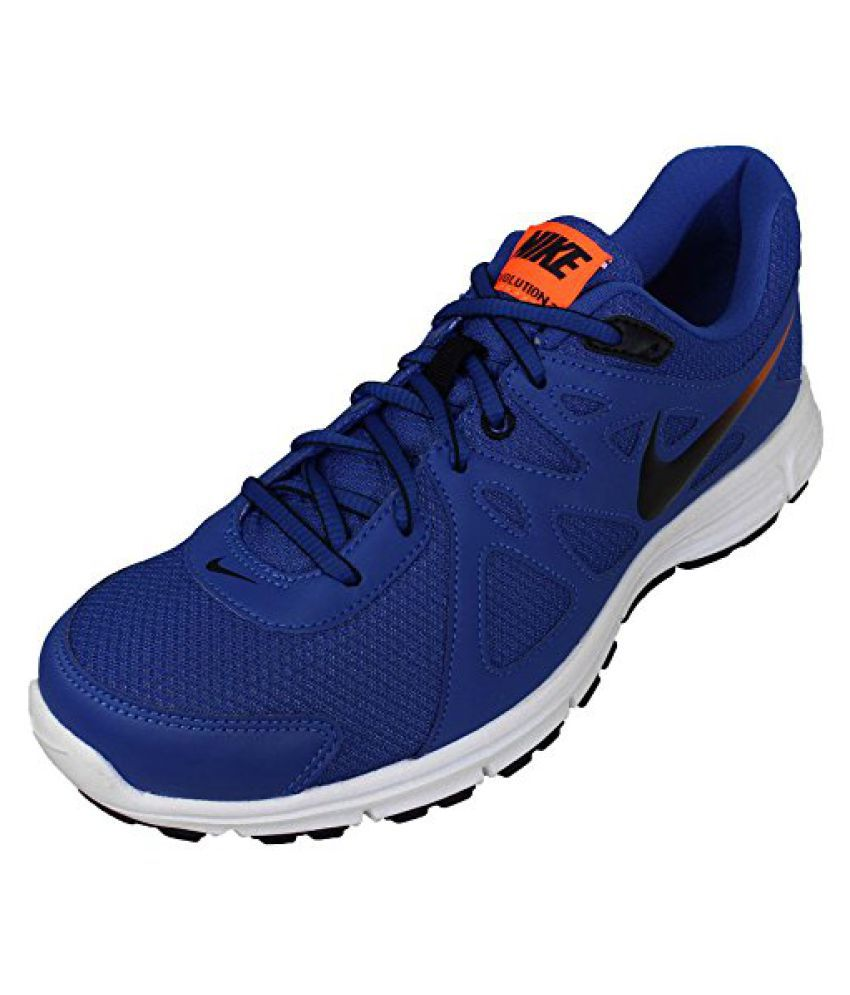 lowest price 2ff8d d6324 ... Nike Mens Blue Mesh Running Shoes (554954-409) - (12 UK INDIA ...