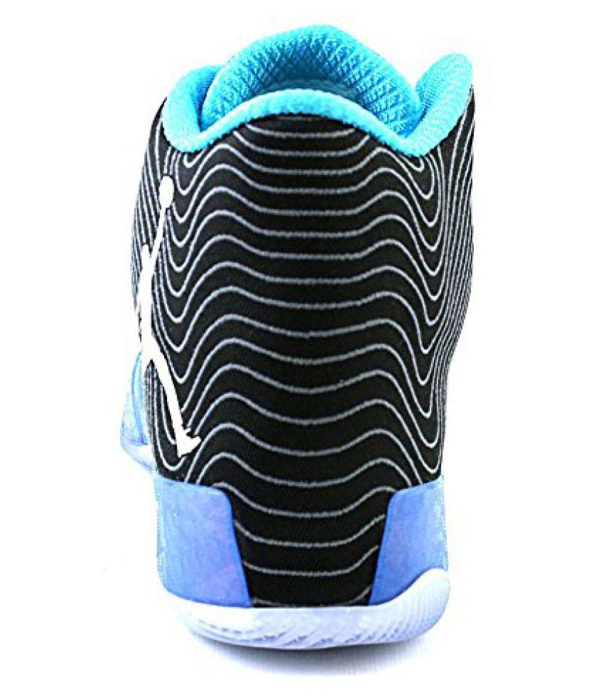 5b27b798e15 ... nike air jordan XX9 playoff pack mens hi top basketball trainers 749143  sneakers shoes black white