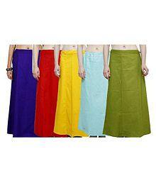 Efashion Multicoloured Cotton Petticoat