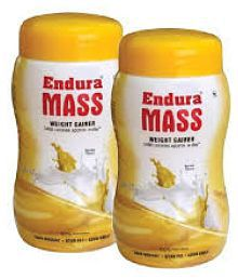 Endura Mass Wight Gainer Banana 2x 500 Gm Banana Weight Gainer Powder