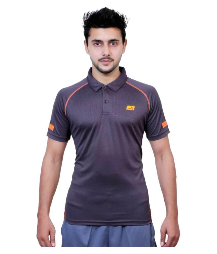 Vector X Solid Men's Polo Neck T-Shirt