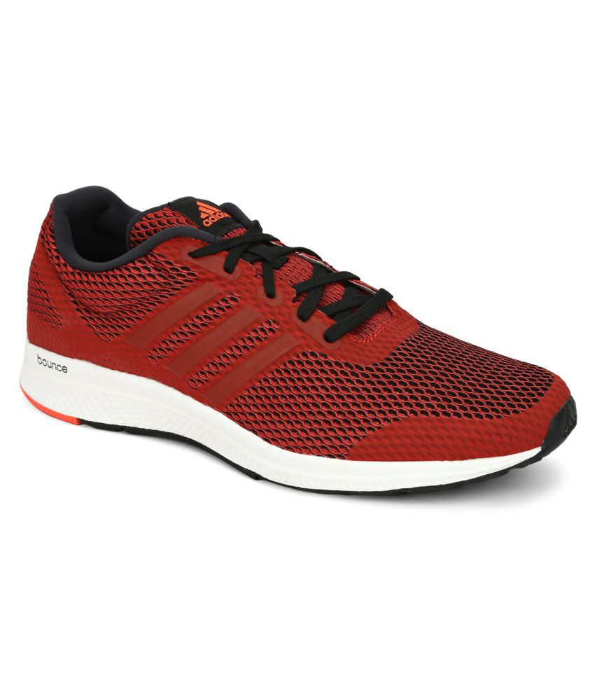 Adidas Mana Bounce M Red Running Shoes
