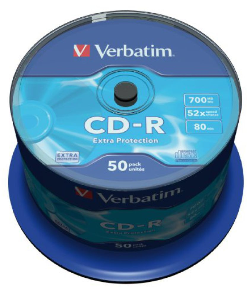 CD-R 52X Extra Protect. 700MB50 Pack