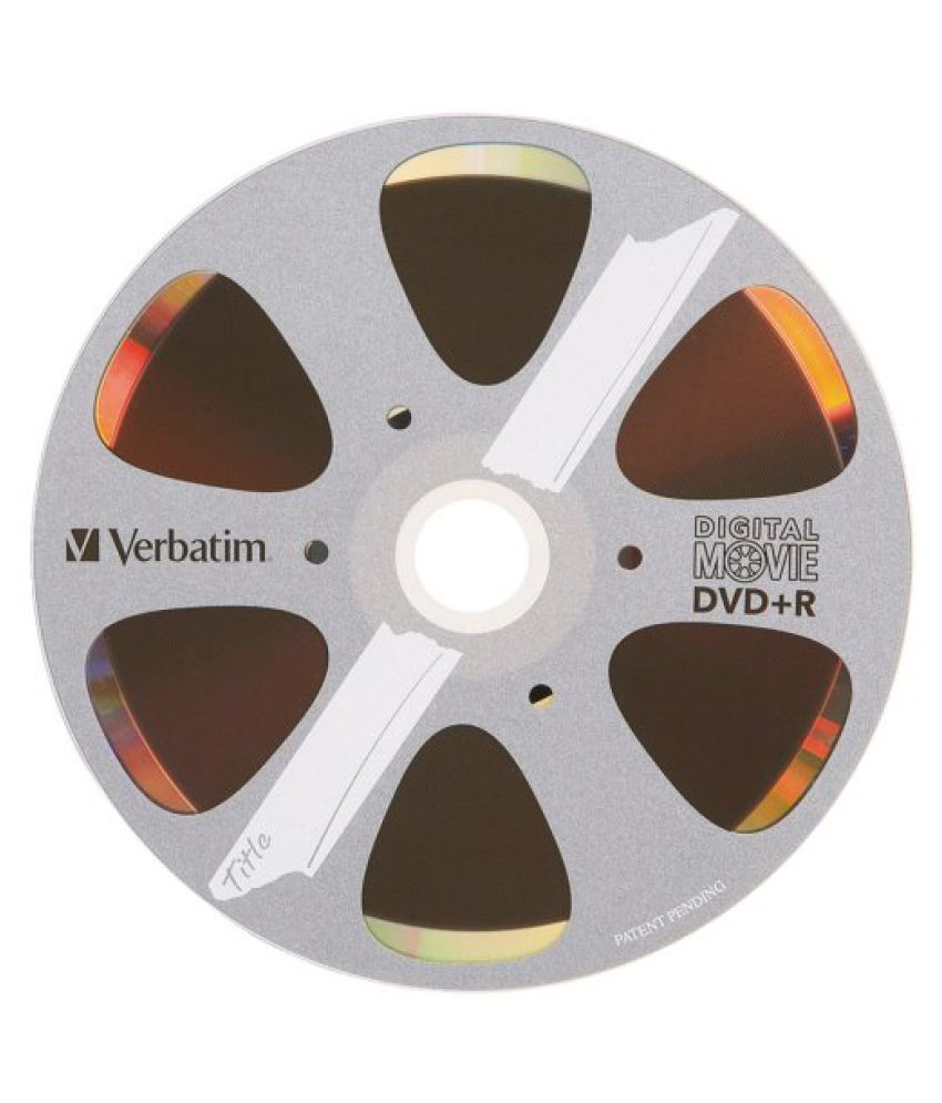 Verbatim 4.7 GB 8x Digital Movie Recordable Disc DVD+R, 10-Disc Blister 96857