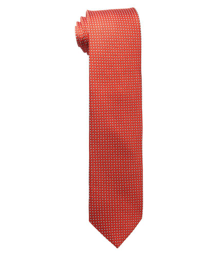 Corpwed Red Party Necktie