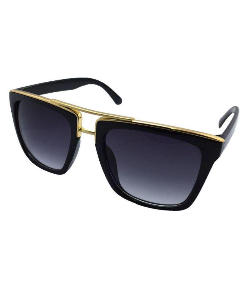 Juria Black Wayfarer Sunglasses ( romantic-1261 )