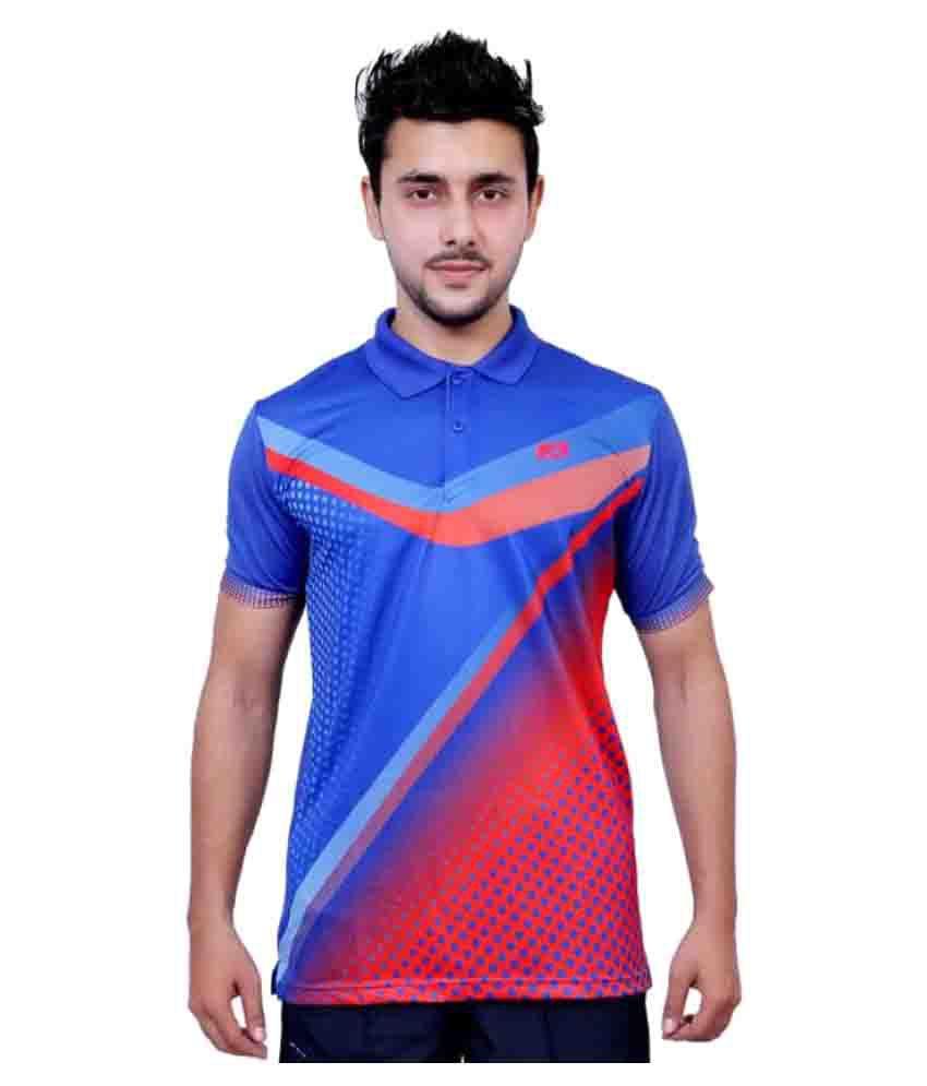 Vector X Multicolour Printed Men's Polo T-Shirt