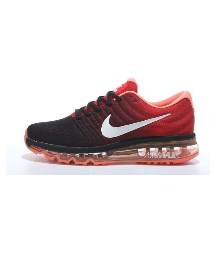 bbd1b7fc2a8 Zoom Air 2017 Multi Color Running Shoes - Buy Zoom Air 2017 Multi Color  Running Shoes Online at Best Prices in India on Snapdeal