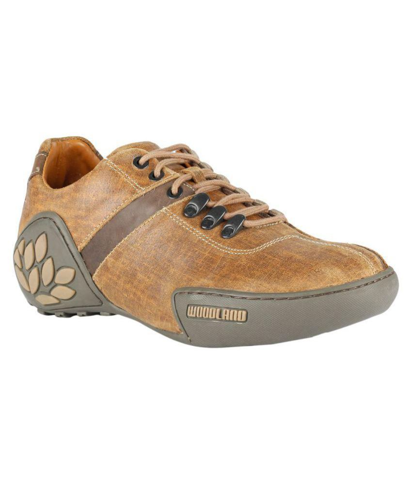 Woodland GC 0580108Y15- Outdoor Camel Casual Shoes ...