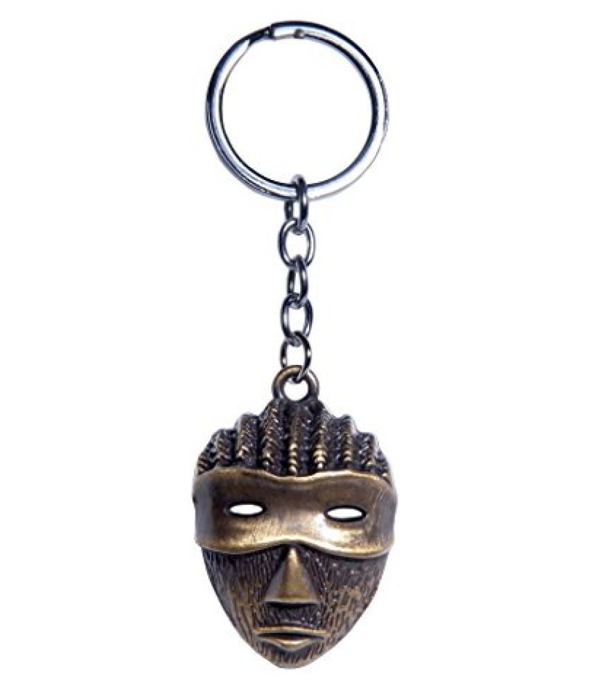 Oyedeal Mask Full Metal Key Chain