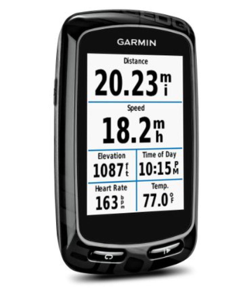 Garmin 010-01063-00 Edge 810 GPS Bike Computer, Standard (Black)