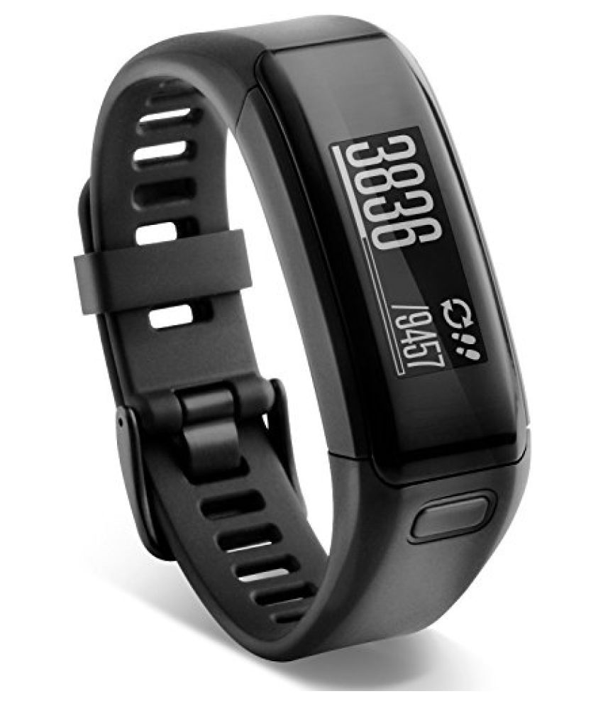 Garmin 010-01955-00 Garmin vivosmart HR, WW, Black, Regular
