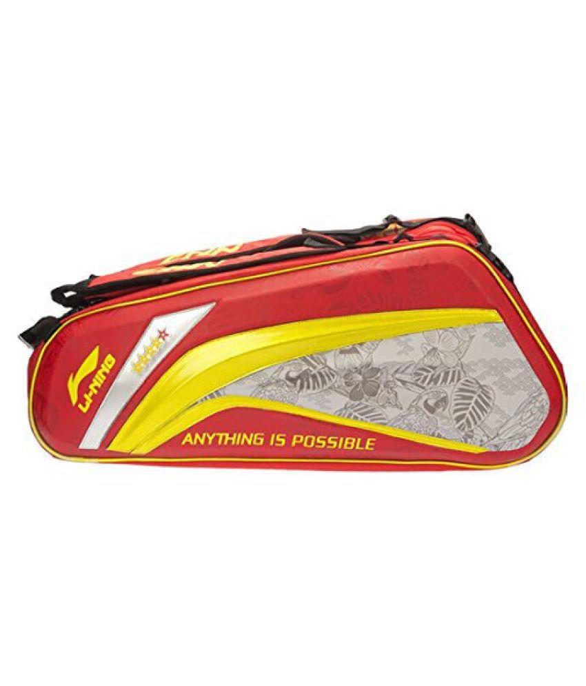 Li-Ning ABJL066 Badminton Kit Bag Colour-Red