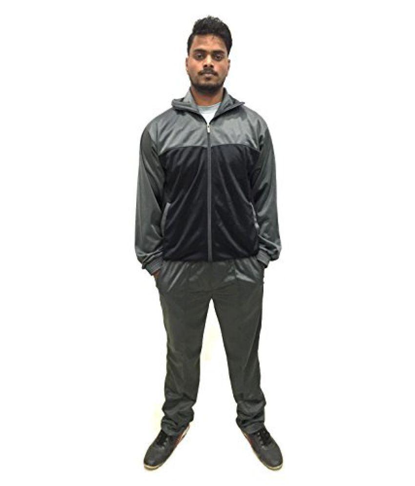 O'win TrackSuit For Men Size XXL Black & grey
