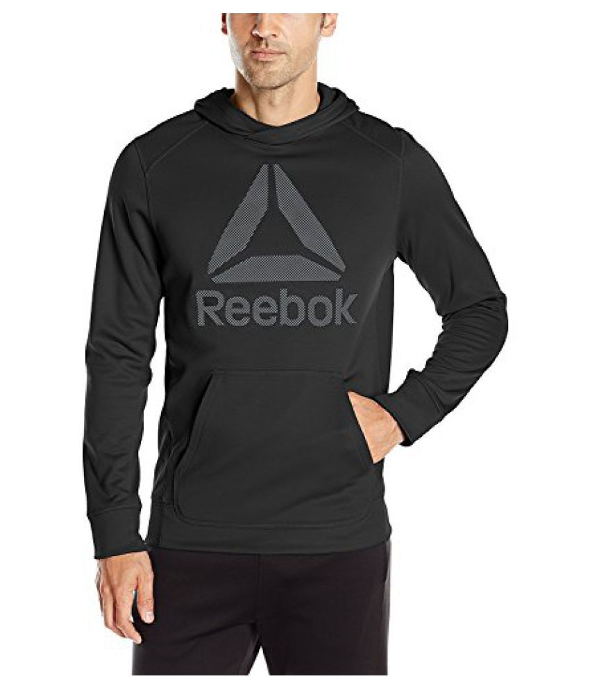 Reebok Men's Workout Ready Warm Poly Fleece Jacket