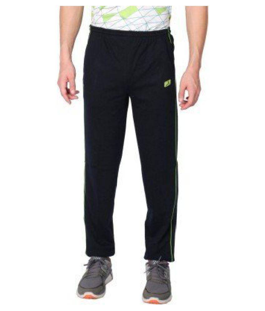 Vector X Solid Men's Blue Track Pants